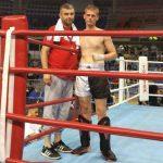 Kik-bokser Radničkog Nemanja Grčak u finalu juniorskog prvenstva države