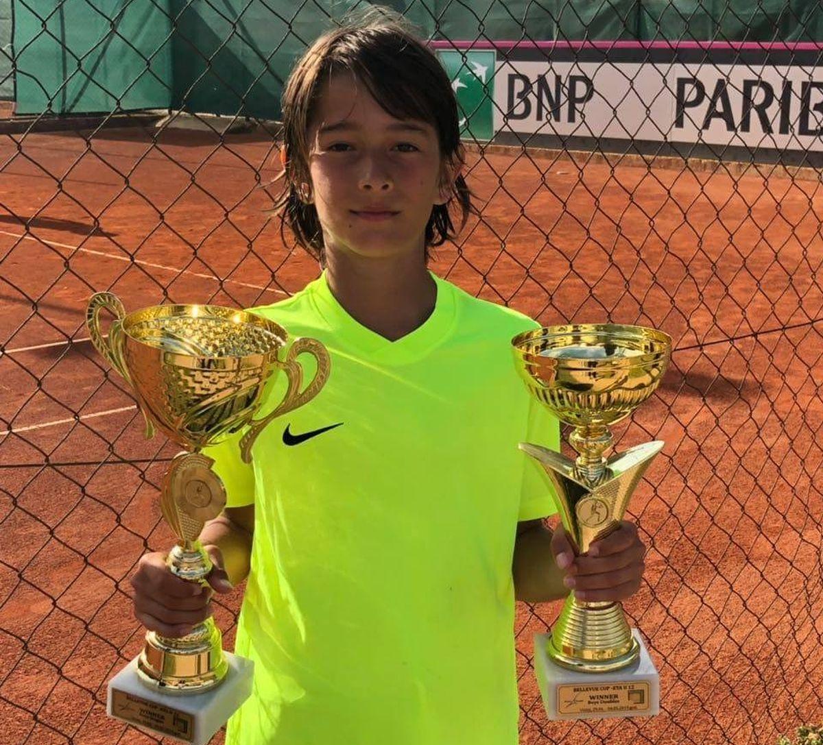 Veliki uspesi mladog kragujevačkog tenisera