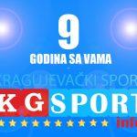 Devet godina portala KG sport.info